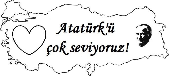 Atatürk Haftası çizimleri Resimler Secdem