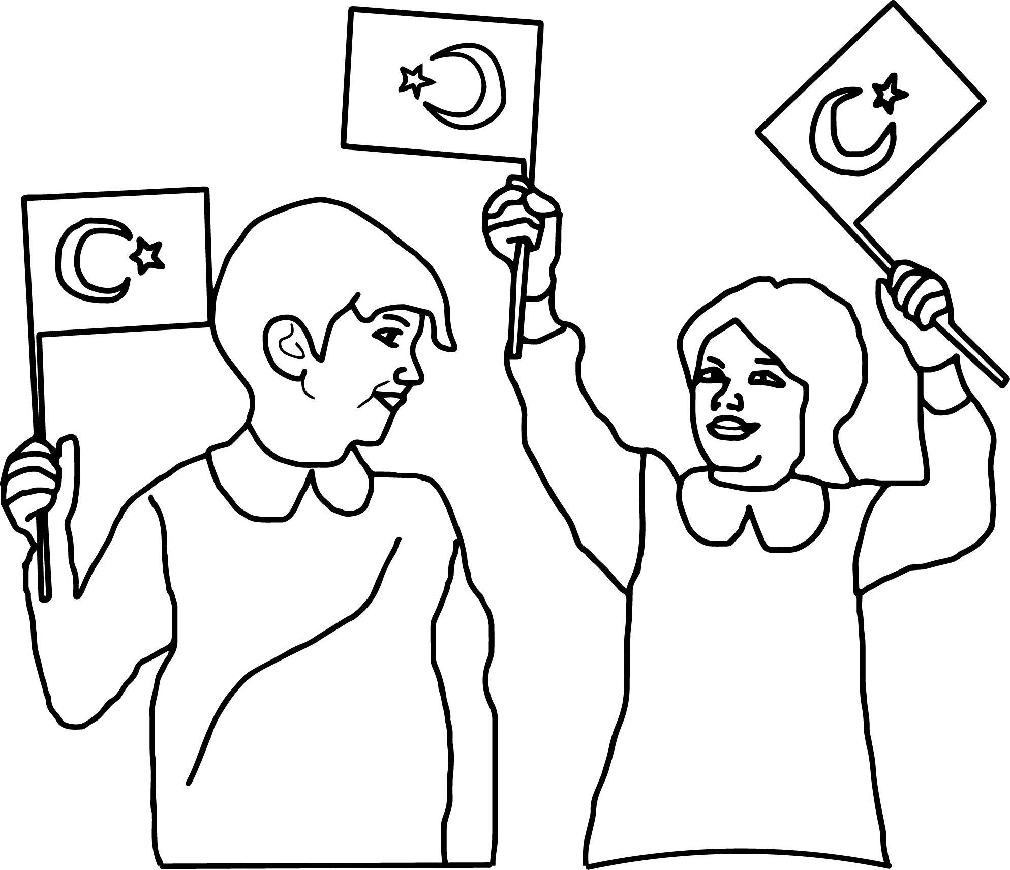 29 Ekim Cumhuriyet Bayramı Ile Ilgili Resimli çizimler Secdem
