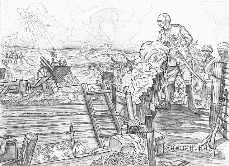 Canakkale Savasi Cizimleri Ve Resimleri Secdem