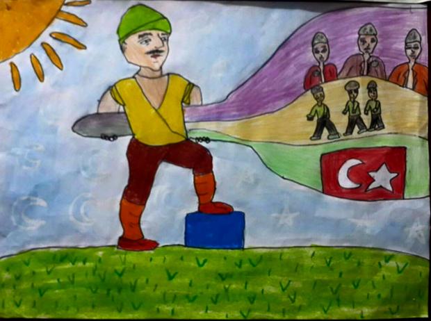 çanakkale Savaşı çizimleri Ve Resimleri Secdem