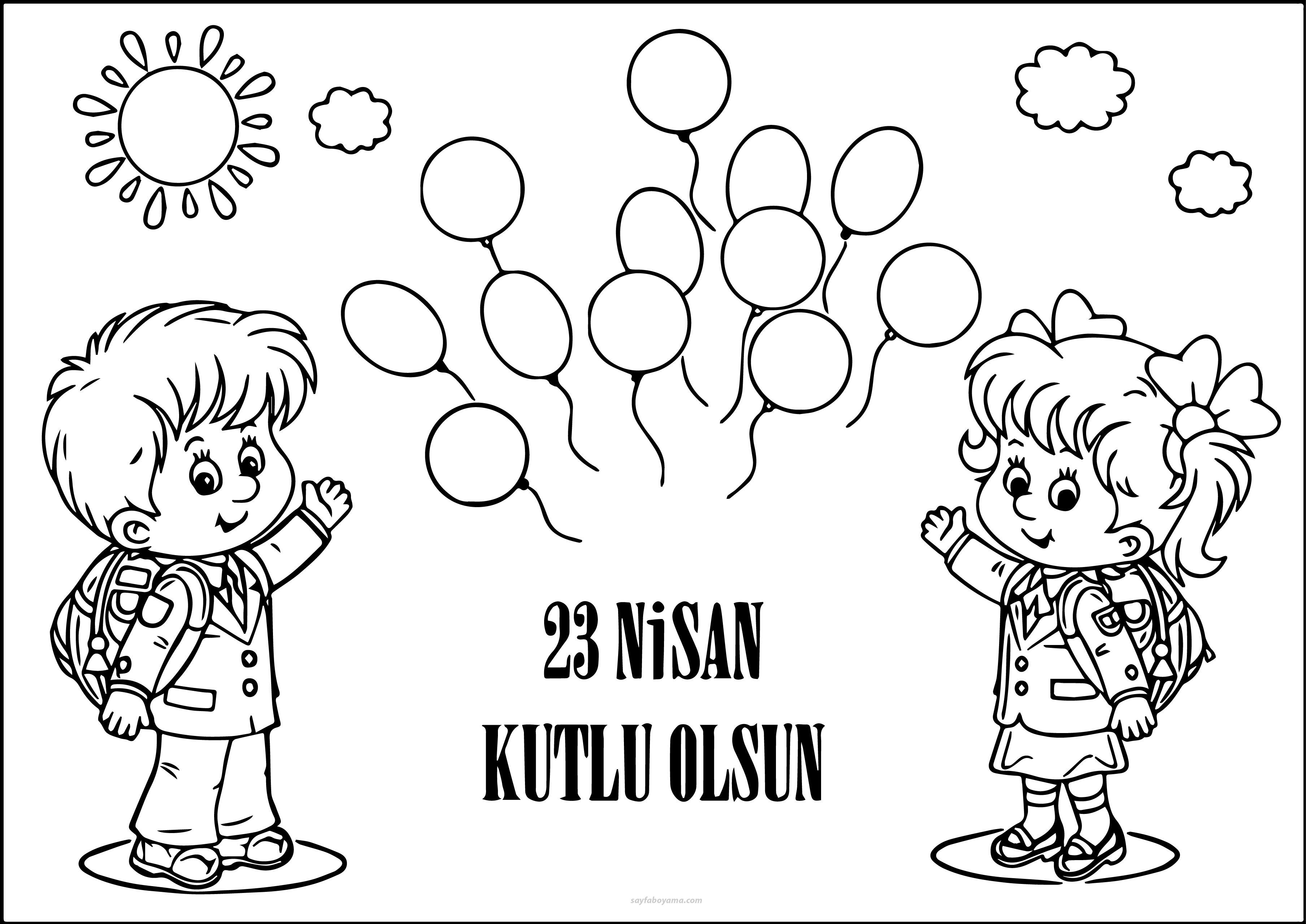 23 Nisan Ulusal Egemenlik Ve çoçuk Bayramı Secdem