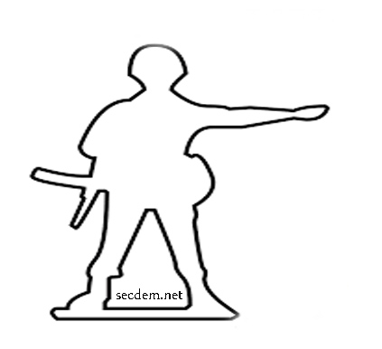 Asker Resmi Nasıl çizilir Ve Yapılır Secdem