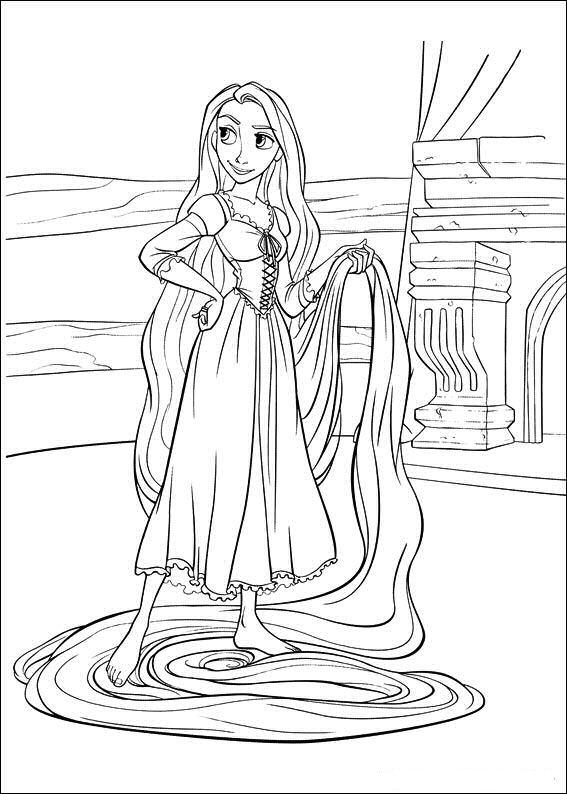 Prenses Rapunzel çizimleri Ve Resimleri Secdem