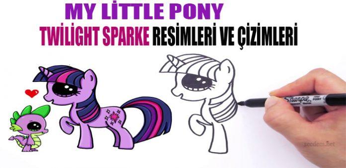 My Little Pony Twilight Sparke Resimleri Ve Cizimleri Secdem